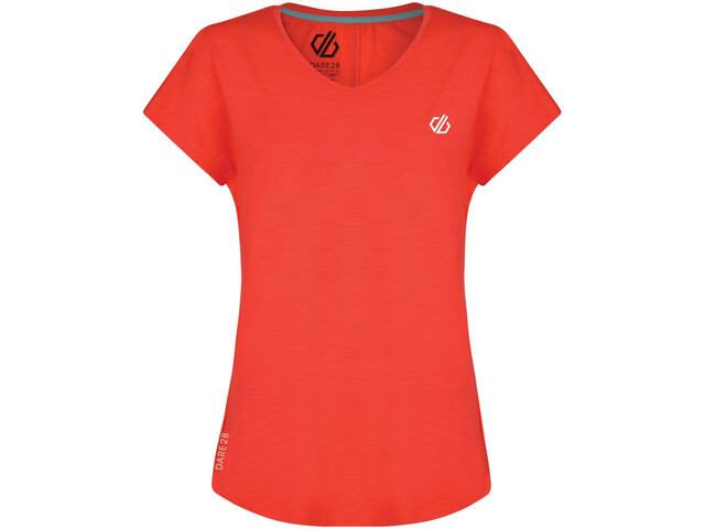 Dare 2b Vigilant Camiseta Mujer, fiery coral